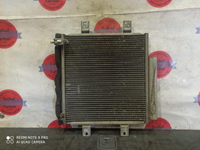 Радиатор кондиционера Toyota Passo KGC10 1KR-FE 6694