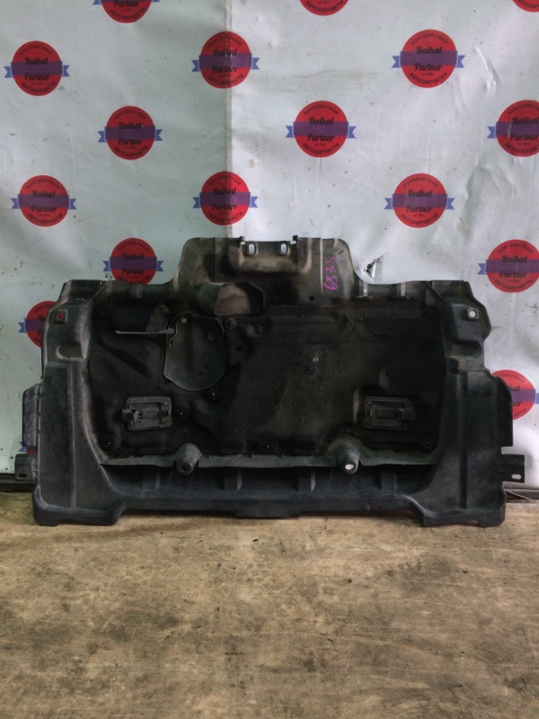 Защита двс пластик Subaru Forester SG5 2002 6835