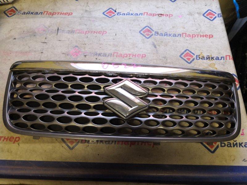 Решетка радиатора Suzuki Wagon R Solio MA34S M13A 2004 6522