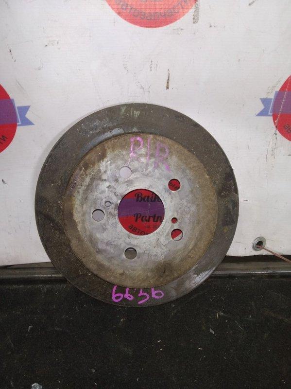 Тормозной диск Toyota Vista Ardeo SV55G задний правый 6636