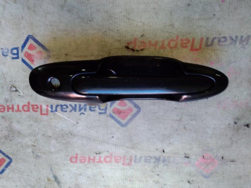 Ручка двери Mazda Mpv LW5W передняя левая 20212