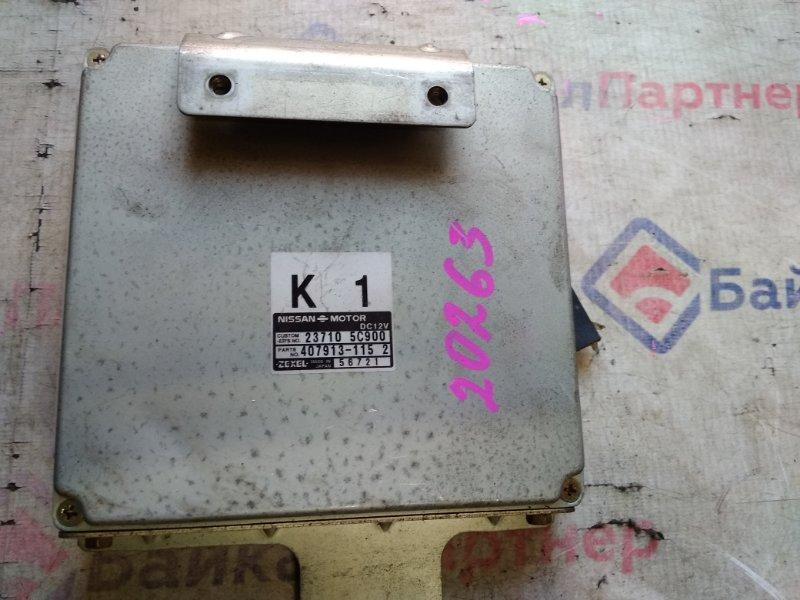 Блок efi Nissan CD20 23710-5C900
