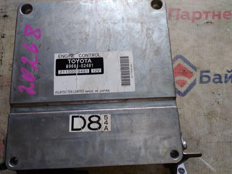 Блок efi Toyota 1NZ-FE 89661-52481