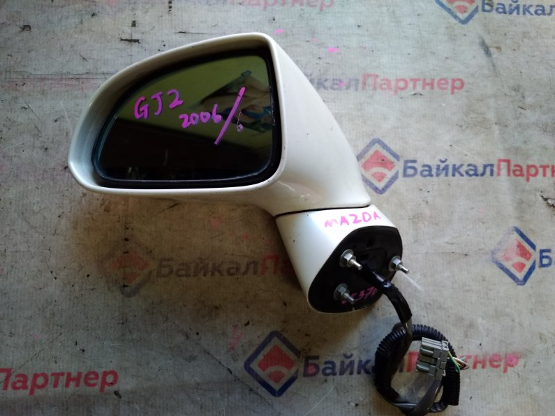 Зеркало Honda Airwave GJ2 L15A 2006 переднее левое 20376
