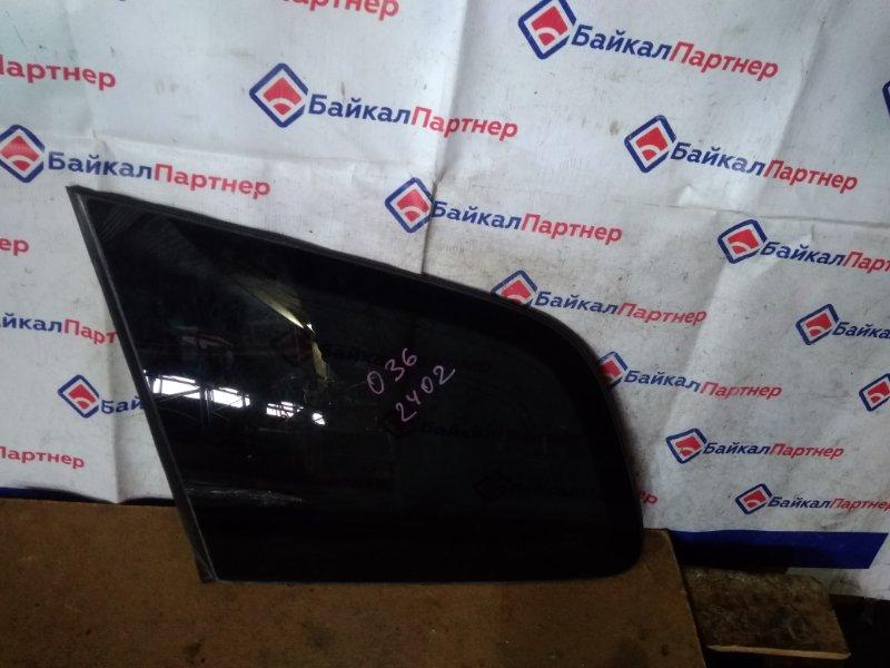 Стекло собачника Honda Avancier TA1 F23A 2001 левое