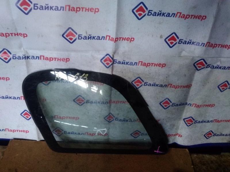 Стекло собачника Toyota Corolla Spacio AE111N 4A-FE 1999 правое 613