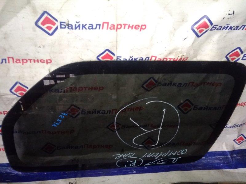 Стекло собачника Suzuki Jimny Wide JB23W 2008 заднее правое 72571