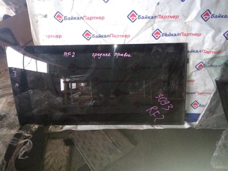 Стекло среднее Honda Step Wagon RF2 B20B правое 3093