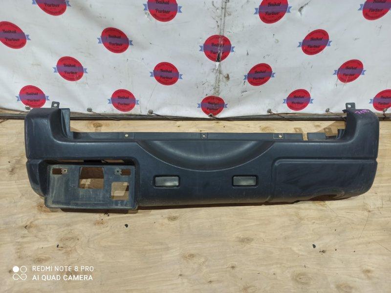 Бампер Suzuki Jimny JB23W K6A задний 7140