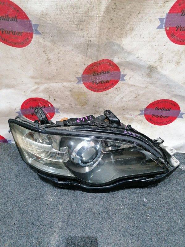 Фара Subaru Outback BP9 EJ25 10.2003 передняя правая 100-20791