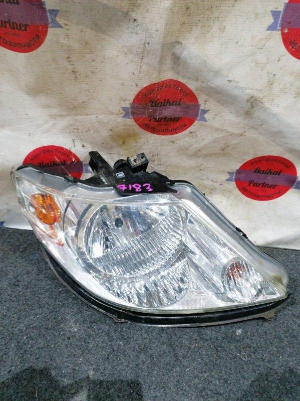 Фара Honda Fit Aria GD8 L15A 12.2002 правая 30-14