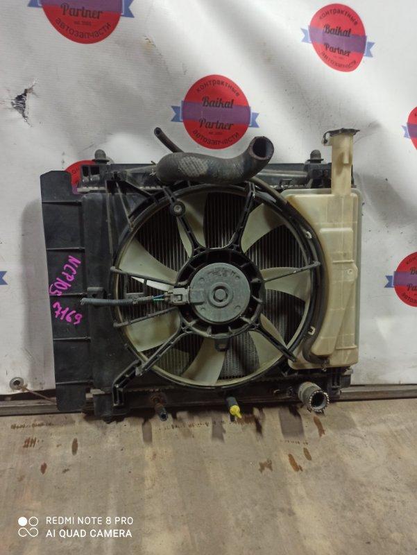 Радиатор двс Toyota Ractis NCP105 1NZ-FE 7169