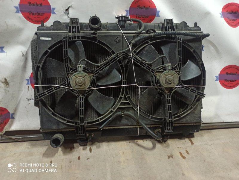 Радиатор двс Nissan Avenir RNW11 QR20DE 2003 6883