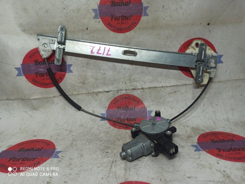 Стеклоподъемный механизм Honda Edix BE4 K20A передний правый 7172