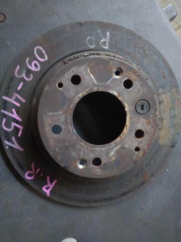 Тормозной диск Honda Step Wagon RF2 B20B задний правый 4151