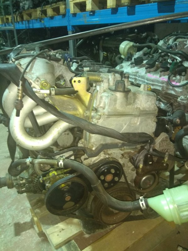 Двигатель Nissan Wingroad WHNY11 QG18DE 7186