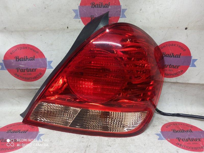 Стоп Nissan Bluebird Sylphy FG10 QG15DE 2004 задний правый 49-78