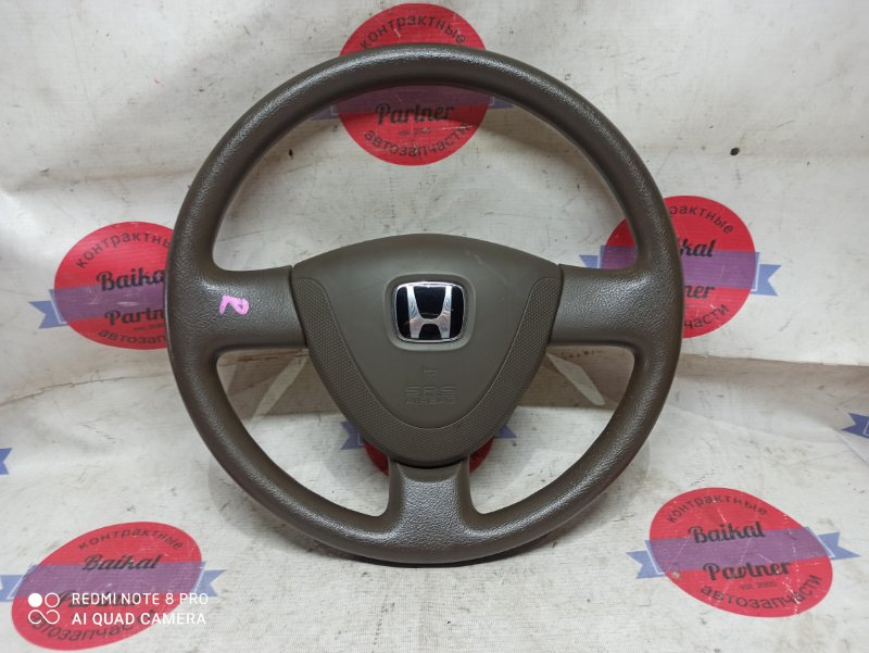 Airbag на руль Honda Fit Aria GD6 L13A 2008 6966