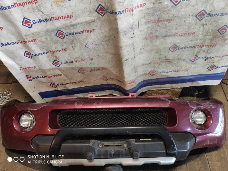 Бампер Suzuki Jimni Wide JB33W G13B 1998 передний