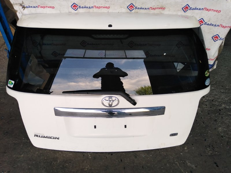 Дверь 5-я Toyota Corolla Rumion ZRE152N 2ZR-FE 2007 задняя