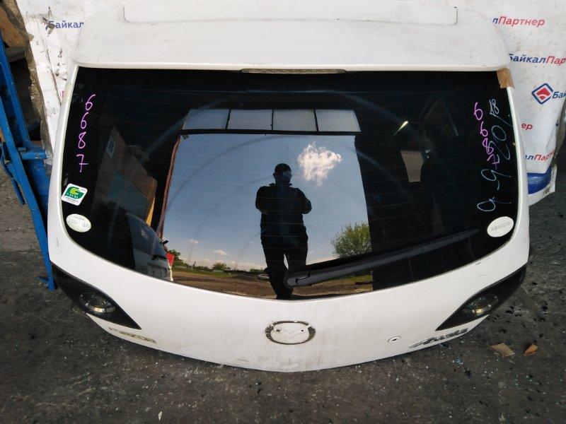 Дверь 5-я Mazda Axela BK5P ZY-VE задняя