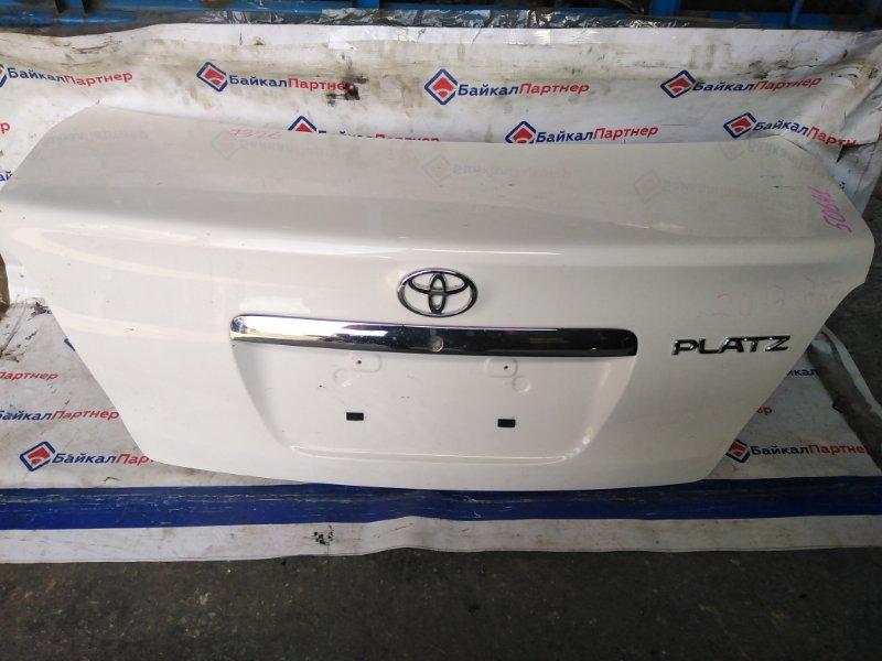 Крышка багажника Toyota Platz NCP16 2003 задняя