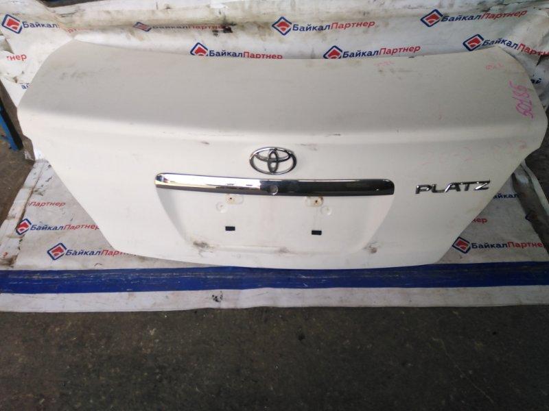 Крышка багажника Toyota Platz NCP12 1NZ-FE 2003 задняя
