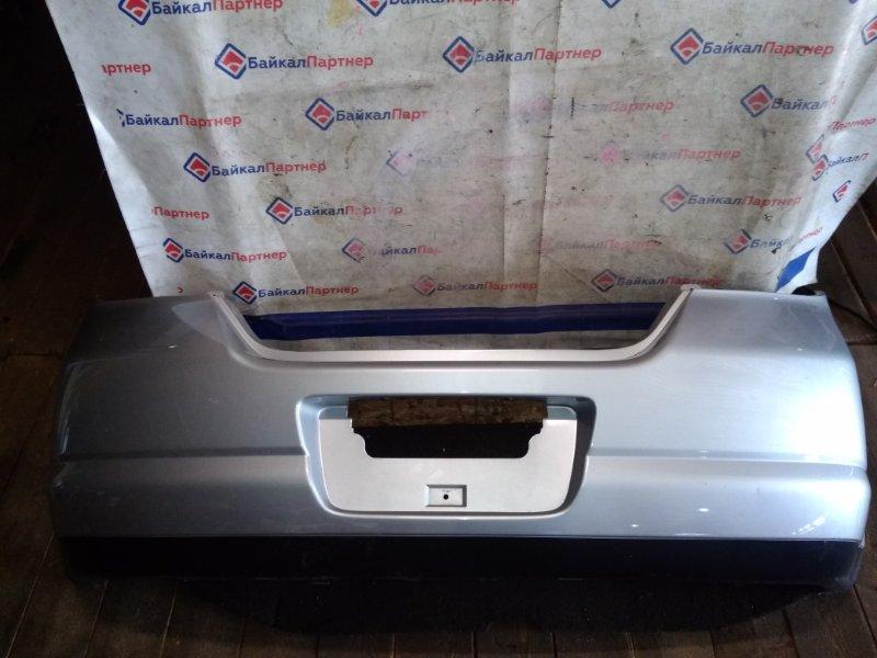 Бампер Nissan Tiida C11 HR15DE задний