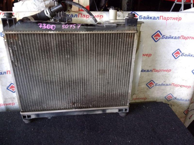 Радиатор двс Toyota Funcargo NCP25 1NZ-FE
