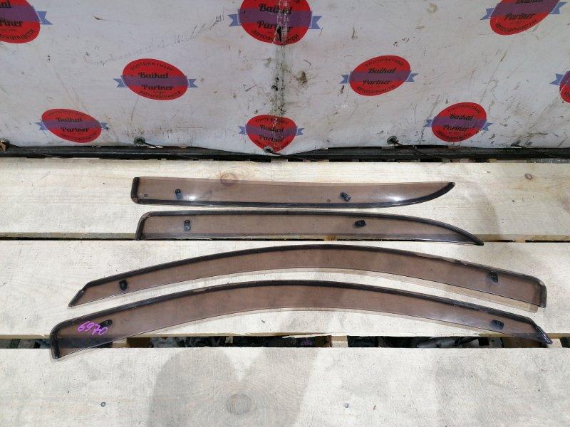 Ветровики комплект Toyota Vitz SCP10 1SZ-FE 2001 6970