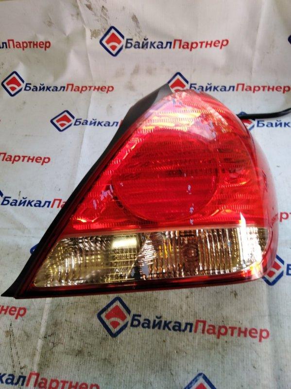 Стоп Nissan Bluebird Sylphy QNG10 QG18DE задний правый 49-78
