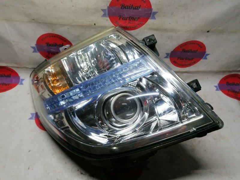 Фара Nissan Elgrand NE51 VQ35DE 2006 правая 100-24852