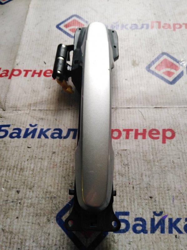 Ручка двери Toyota Passo KGC10 1KR-FE передняя левая