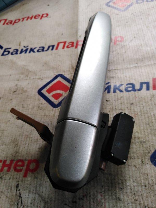 Ручка двери Toyota Passo KGC10 1KR-FE задняя левая