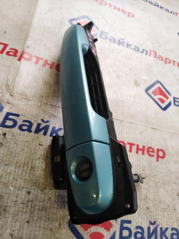Ручка двери Toyota Passo KGC15 1KR-FE передняя правая