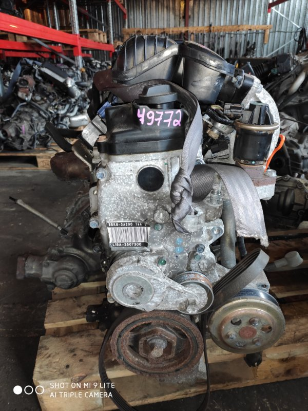 Двигатель Honda Freed GB4 L15A