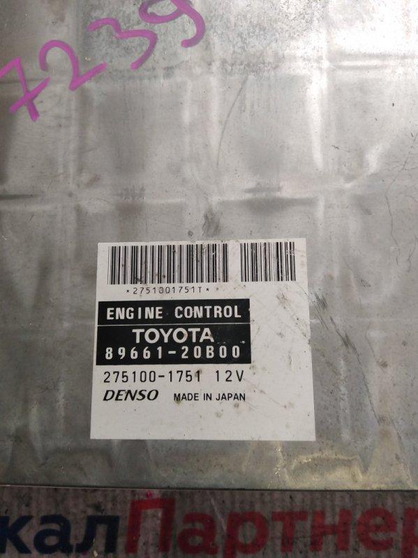 Блок efi Toyota 1ZZ-FE 89661-20B00