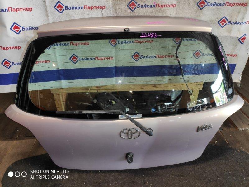 Дверь 5-я Toyota Vitz SCP10 1SZ-FE 2000 задняя