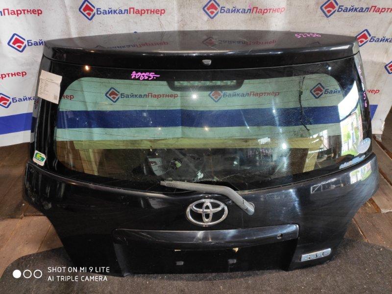 Дверь 5-я Toyota Ist NCP61 задняя