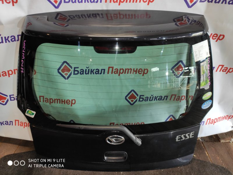Дверь 5-я Daihatsu Esse L245S задняя