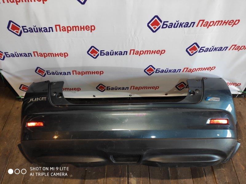 Бампер Nissan Juke NE15 2010 задний
