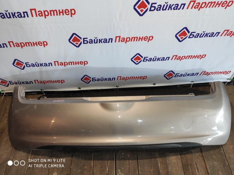 Бампер Nissan March AK12 2008 задний