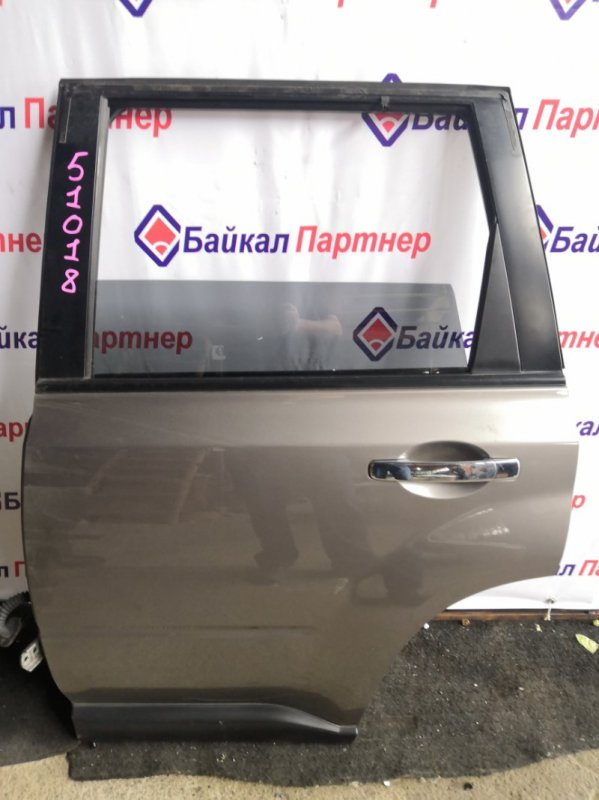 Дверь Nissan X-Trail NT31 MR20DE задняя левая
