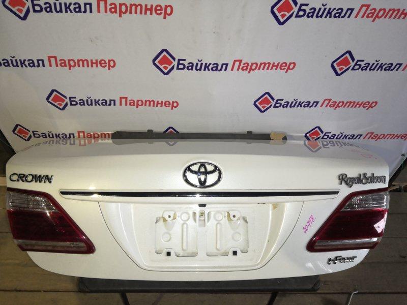 Крышка багажника Toyota Crown GRS203 2010 задняя