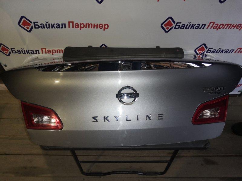 Крышка багажника Nissan Skyline NV36 VQ25HR 2006 задняя