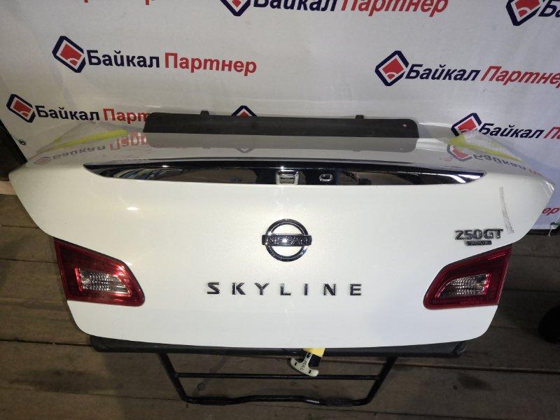 Крышка багажника Nissan Skyline NV36 задняя