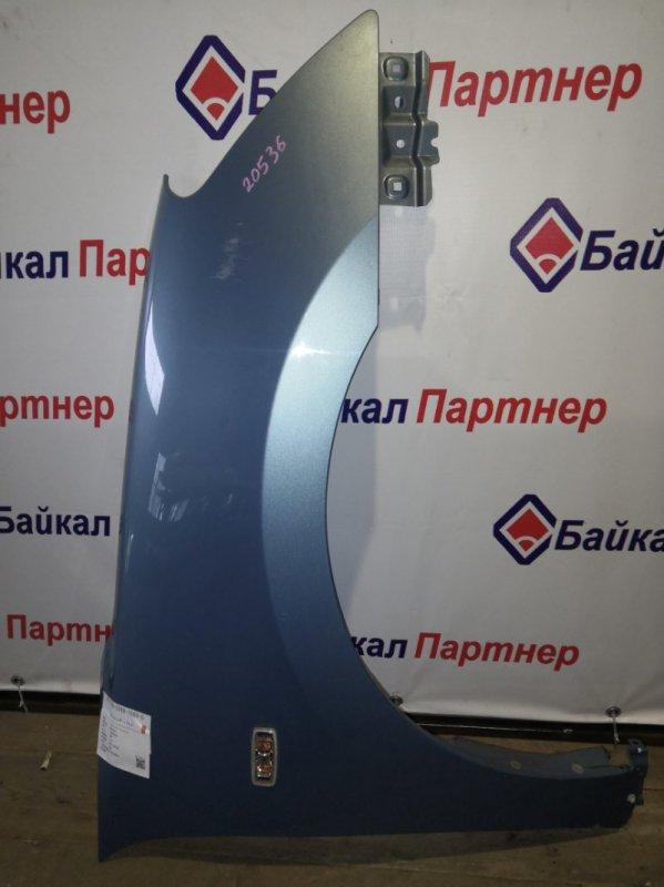Крыло Nissan Bluebird Sylphy KG11 MR20DE 2006 переднее правое