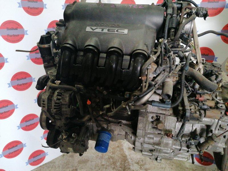 Двигатель Honda Mobilio GB2 L15A 2001 6978