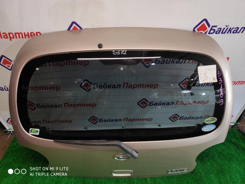 Дверь 5-я Daihatsu Move Latte L560S 2005 задняя