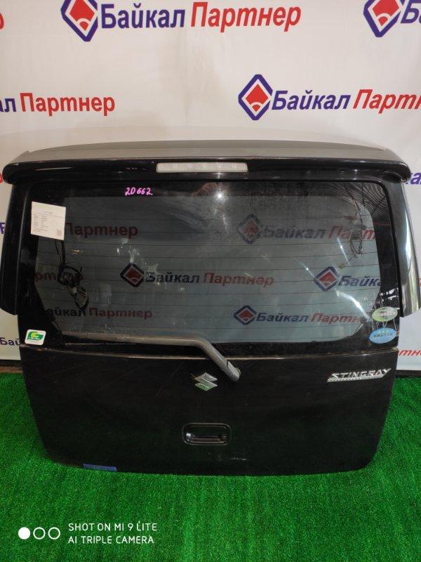 Дверь 5-я Suzuki Wagon R MH22S 2008 задняя